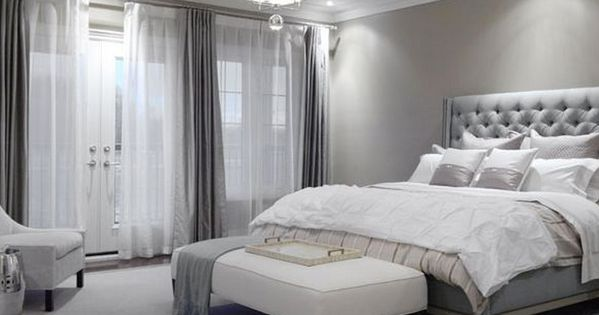 Dove Gray Home Decor Luxe Modern Bedroom In Grey More