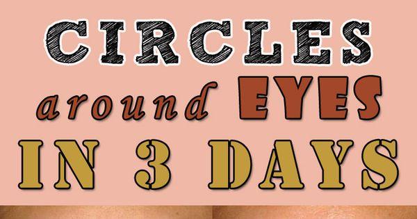 how to get rid of dark skin around eyes