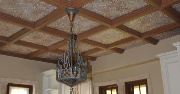 At Home Depot Styrofoam Beams ~ Spanish silver styrofoam ceiling tile quot x r