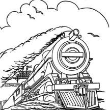 Steam Train Train Coloring Pages Fall Coloring Pages Coloring Pages