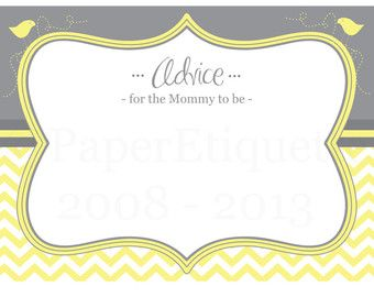 Advice For Mom To Be Cards Google Search Mom Advice Cards Baby Shower Advice Cards Advice Cards