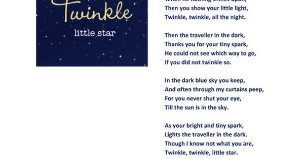 Twinkle my heart english lyrics