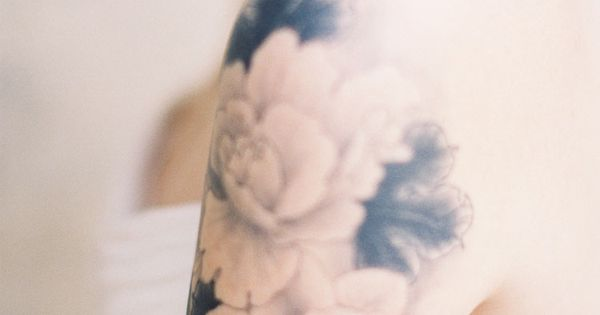 flowers tattoo , love it !