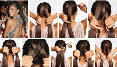How To Make Easy And Stylish Hair Cool Creativity Thick Hair Styles Stylish Hair Easy Hairstyles