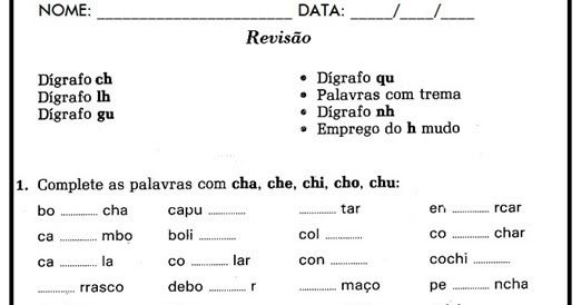 Atividades De Ortografia Para Imprimir Atividades De Ortografia