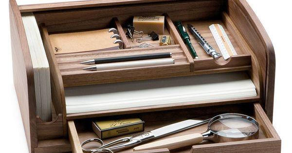 Schreibtisch sekret r nussbaumholz escrit rio for Schreibtisch porta