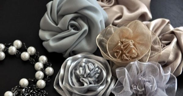 fabric flowers pattern
