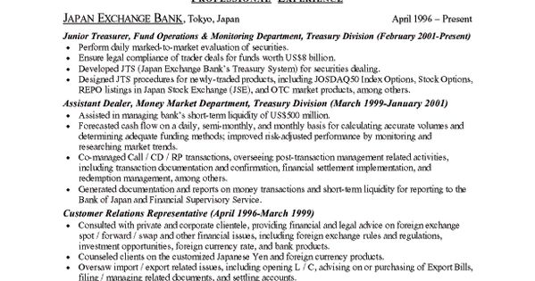Sample Resume For Graduate School Application