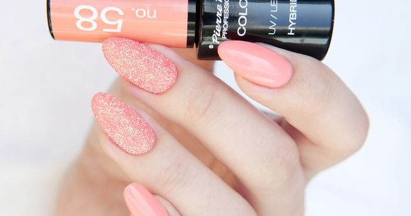 pin auf hybrid gel nail polish nails and art semilac lakier zwykły
