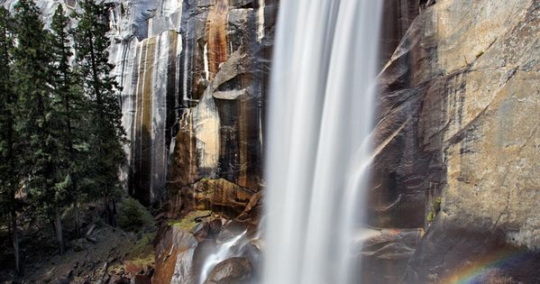 Vernal Falls - photo by Rob Kroenert, via Flickr; Yosemite National Park