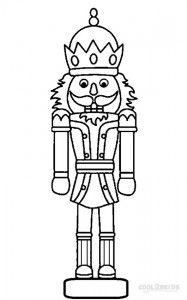 Free Nutcracker Coloring Pages To Print on a budget