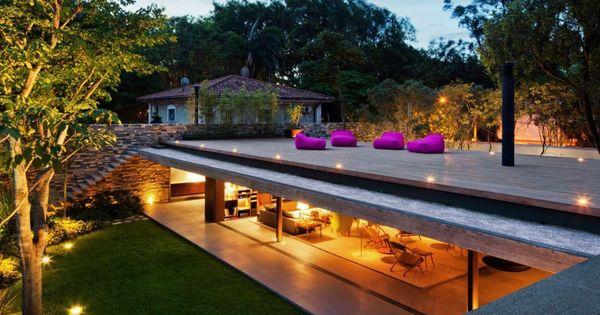 The V4 House by Studio MK27 - architecture Brazil concrete architecture Contemporary