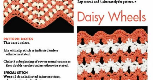 ... description) - Alleta crochet stitches Pinterest English, Wheels