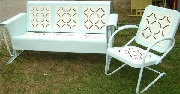 Vintage Patio Set Sigh I Was So Close To Getting One