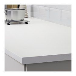 Lilltrask Countertop White Laminate 98x1 1 8 Ikea White Laminate Countertops White Laminate Laminate Countertops