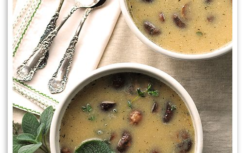 White Bean and Roasted Mushroom Soup: I keep searching for a good