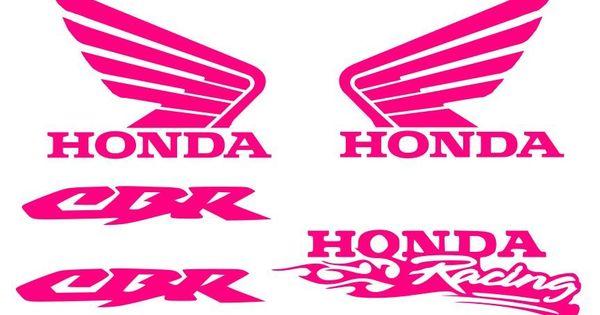 Honda Decal Pink Sticker Motorcycle Cbr 600 1000 1000rr Rr