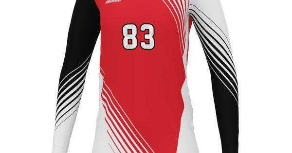 mizuno japan volleyball shirt 44