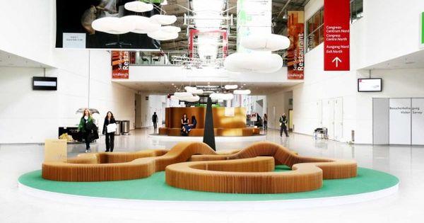 molo Designs Seating Areas At Orgatec 2014  Furniture  Pinterest