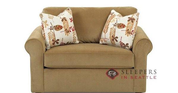 Savvy Ottawa Classic Sleeper Chair Chair Fabric Fabric Sofa Chair