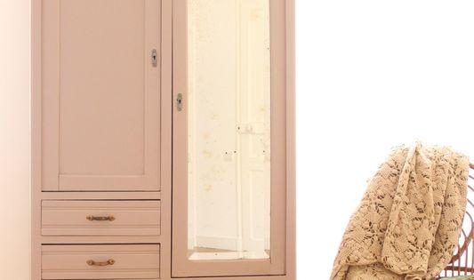 armoire chambre enfant vieux rose penderie trendy little 1 kid 39 s room pinterest armoire. Black Bedroom Furniture Sets. Home Design Ideas