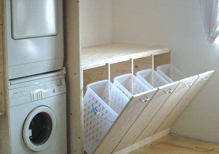 Une id e astucieuse pour la buanderie http www m - Amenager badkamer ...