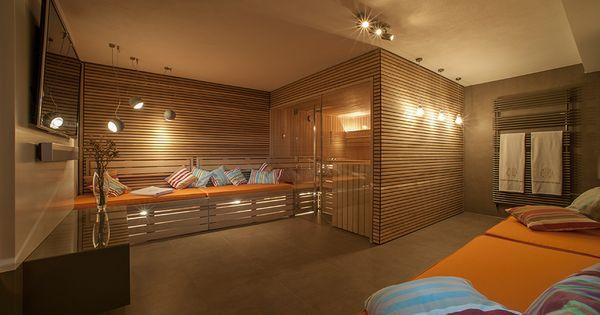 behagliche w rme sauna und ruheraum perfekt vereint mehr sauna ideen f r die eigenen vier. Black Bedroom Furniture Sets. Home Design Ideas