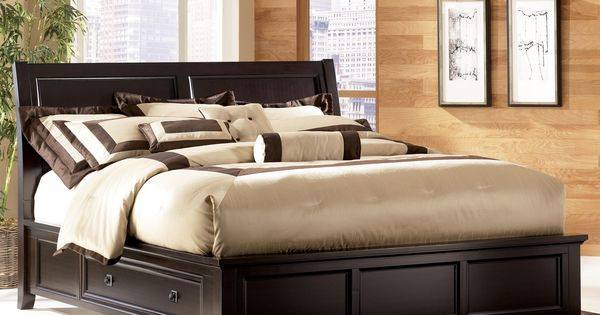 Martini Suite Panel Bed W Storage