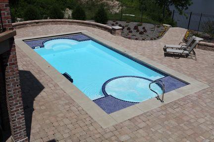Pin By Jasmine Newell On New Home Fiberglass Pools Spa Pool Swimming Pool House