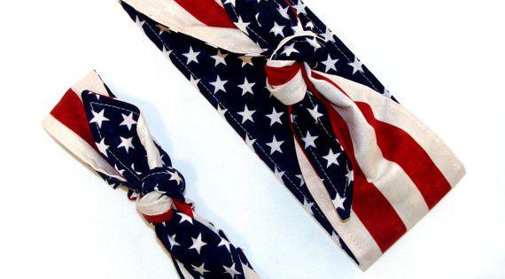 flag day girl