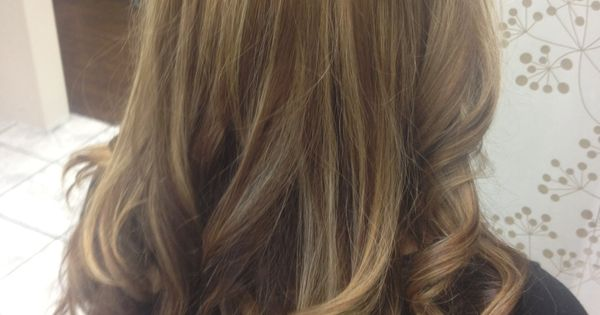 Haircolor By Wella Base Is A 7 1 6 1 Highlights Were