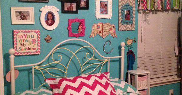 Girly chevron room | Emily's room | Pinterest | Girly, Chevron and ...