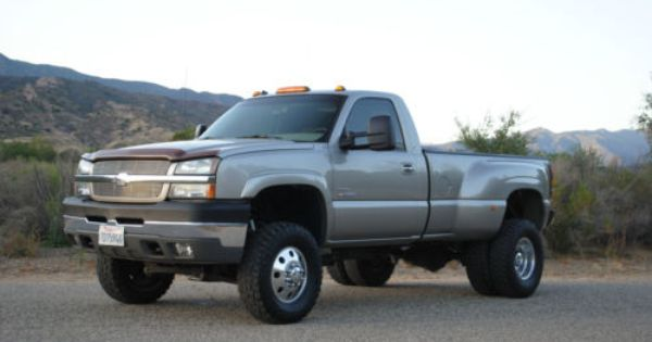 2003 chevrolet silverado 3500 lifted dually diesel 4x4 for sale single cab trucks pinterest. Black Bedroom Furniture Sets. Home Design Ideas