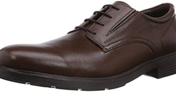 U Dublin A, Chaussures de ville homme - Marron (Dk Brownc6006), 45 EUGeox