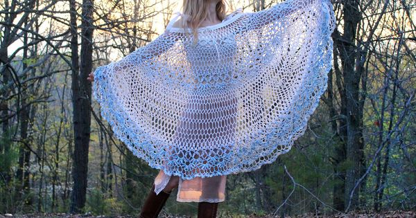 Gypsy Lace Cover Up. Looks suspeciously like a table cloth.