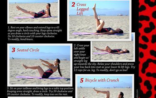 Pop Pilates ab workout