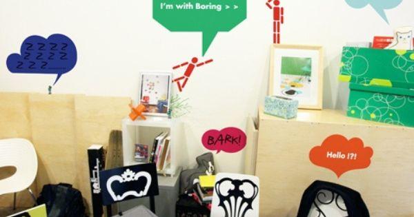 Bulles bd pack a par 2x4 stickers design pinterest stickers