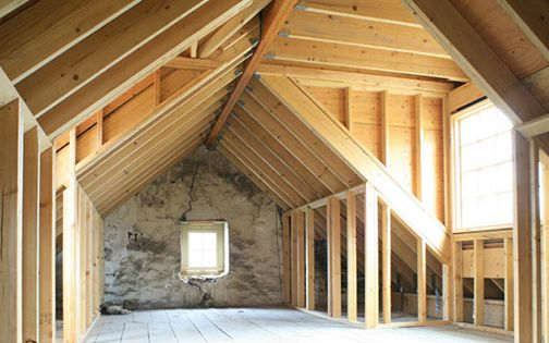 Dormers In Attic Above Garage Home Decorating