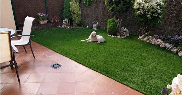 Dise o de jardines peque os de casas con o sin cesped for Jardines pequenos simples