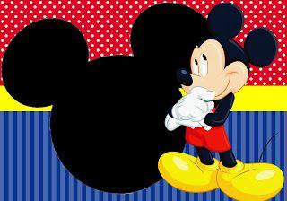 Kit Festa Pronta Turma Do Mickey Gratis Para Baixar Convite