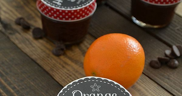 Orange Hot Fudge Sauce Recipe with Free Printable Gift ...