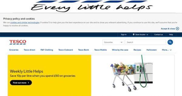 Tesco Purchase Groceries Amp Homewares Online Bingdroid Com