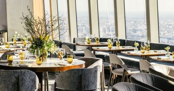 101st Floor Restaurant At 30 Hudson Yards Will Reopen For Indoor Dining Next Month 6sqft In 2020 Indoor Dining Hudson Yards Private Event Space