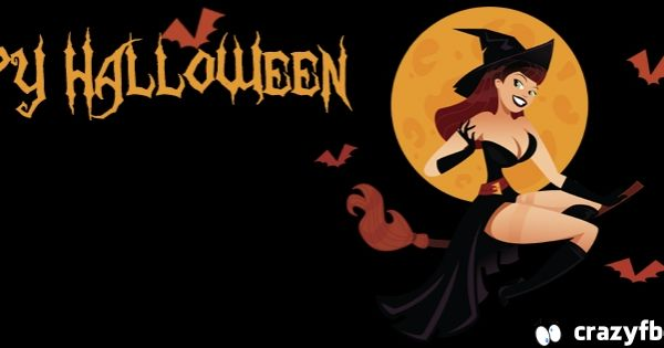 Sexy Witch Happy Halloween Facebook Cover - Facebook ...