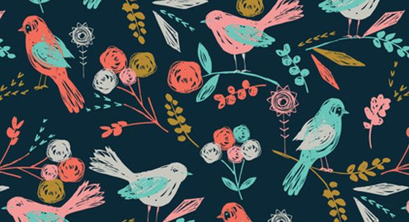 Bird print (via Creature Comforts).