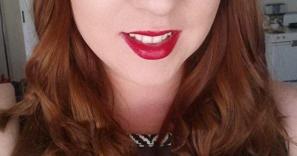 Auburn hair, red hair. From L'Oreal
