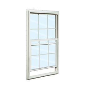 Reliabilt 105 Series Vinyl Double Pane Single Strength Mobile Single Hung Window 36 In X 36 In 105sh36360001 Single Hung Windows Reliabilt Window Fitting