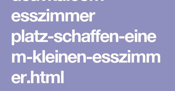 Deavita.Com Esszimmer Platz-Schaffen-Einem-Kleinen-Esszimmer.Html