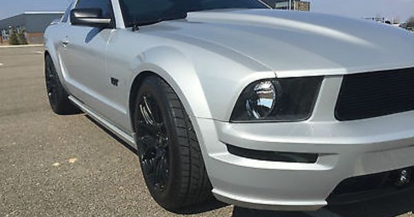 2006 Ford Mustang Gt Premium Auto Silver W Black Leather Mustang Gt Ford Mustang Gt 2006 Ford Mustang