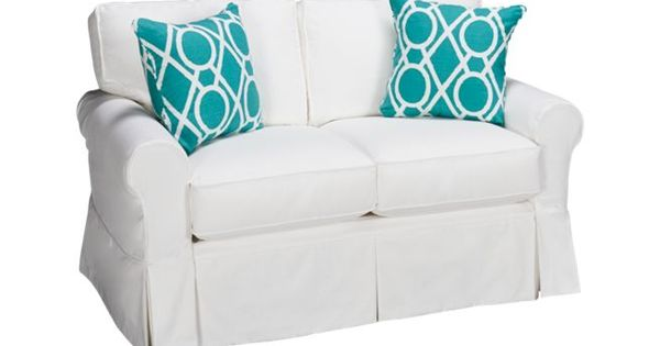 Four Seasons Alex 3 Seat Loveseat With Slipcover